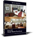 DOSCH 3D: Hotel Room Furniture